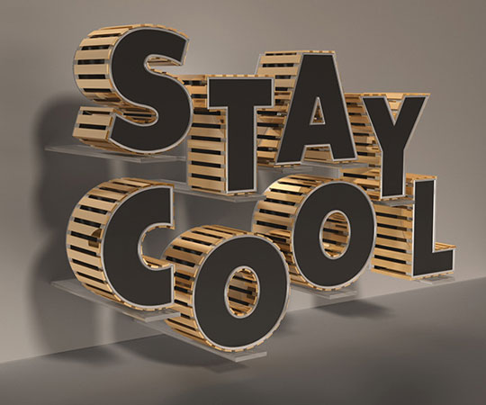 Awesomely Brilliant Adobe Illustrator Text Effects Tutorials 5