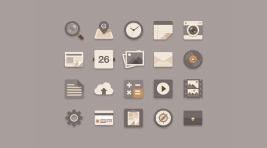 40 Extremely Useful & Free Icon Photoshop Files 35