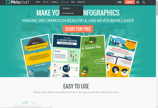 10 Free Tools For Creating Infographics & Visualizing Data 4