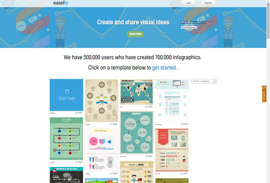 10 Free Tools For Creating Infographics & Visualizing Data 6