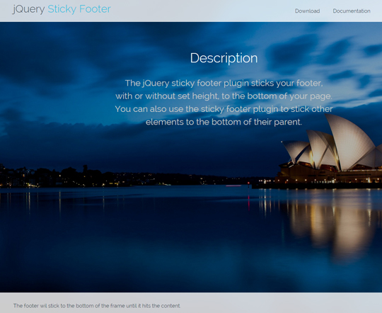 Awesome jQuery Plugins & Tutorials For Sticky Layer Or Table Header 17