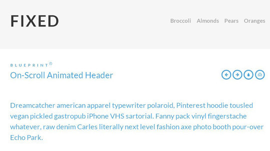 Awesome jQuery Plugins & Tutorials For Sticky Layer Or Table Header 21