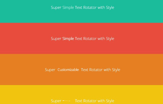 35 jQuery Text Effect Libraries For Your Next Project 13