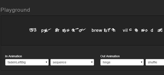 35 jQuery Text Effect Libraries For Your Next Project 16