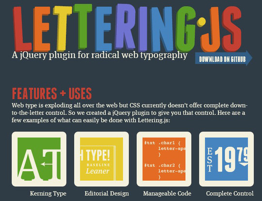 35 jQuery Text Effect Libraries For Your Next Project 18