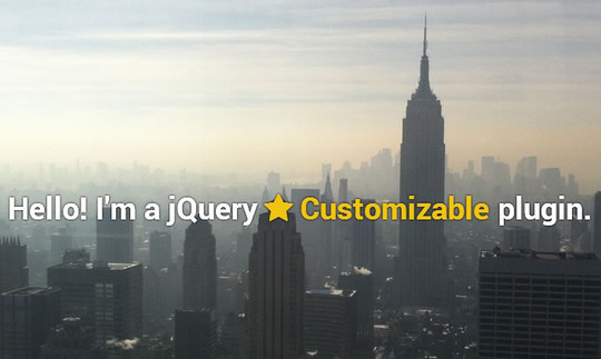 35 jQuery Text Effect Libraries For Your Next Project 21