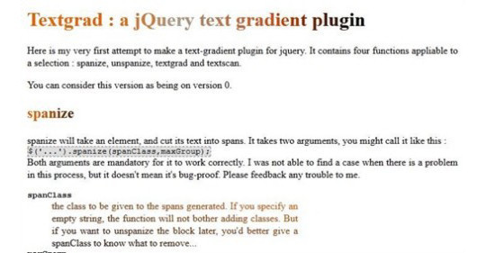 35 jQuery Text Effect Libraries For Your Next Project 31