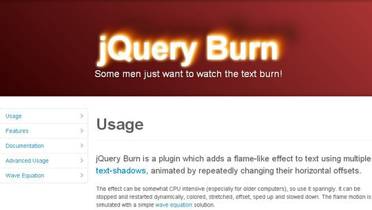 35 jQuery Text Effect Libraries For Your Next Project 33