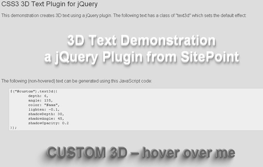 35 jQuery Text Effect Libraries For Your Next Project 12