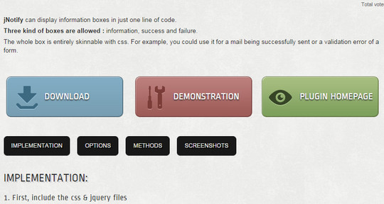 8 jQuery Notification Plugins For Good User Experience 5