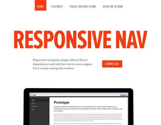 37 Responsive Navigation Menus Plugins & Tutorials 15