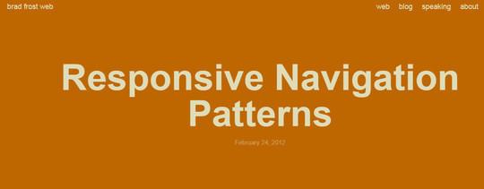 37 Responsive Navigation Menus Plugins & Tutorials 22