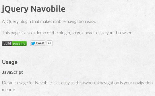 37 Responsive Navigation Menus Plugins & Tutorials 8