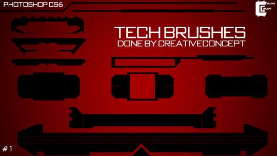 40 Free High Resolution Photoshop Brush Packs 9