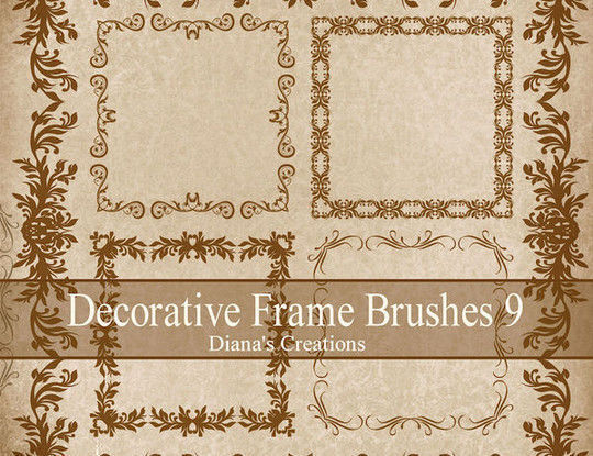 40 High Quality Decorative Corner Brushes For Free Download 6