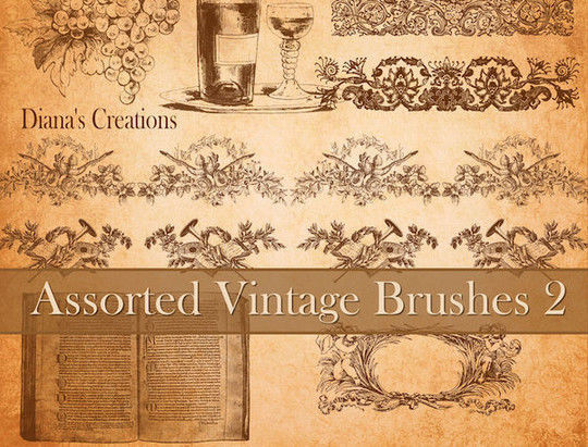 40 High Quality Decorative Corner Brushes For Free Download 17