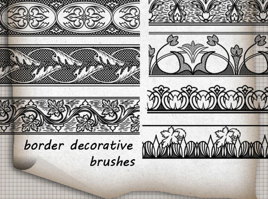 40 High Quality Decorative Corner Brushes For Free Download 15