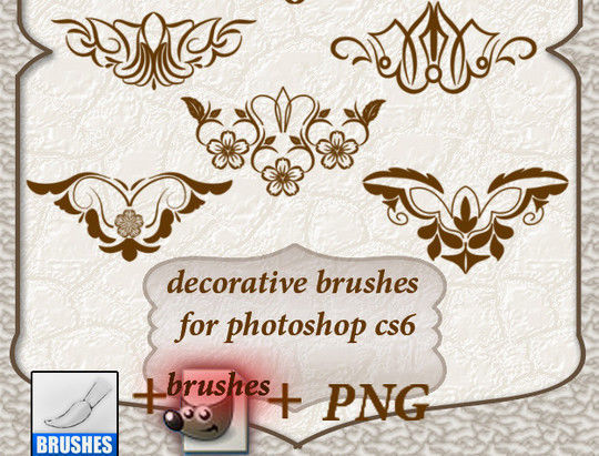 40 High Quality Decorative Corner Brushes For Free Download 16