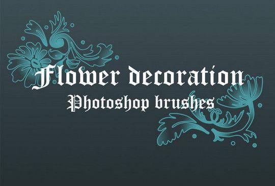 Flower Decoration Brushes