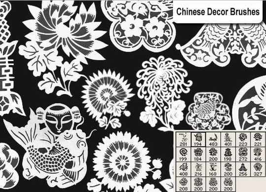 40 High Quality Decorative Corner Brushes For Free Download 31