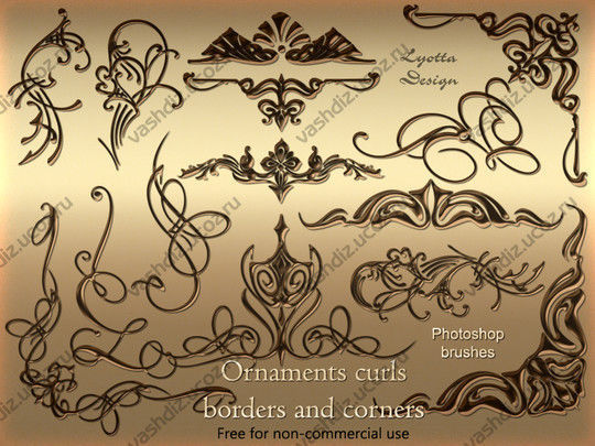 40 High Quality Decorative Corner Brushes For Free Download 3