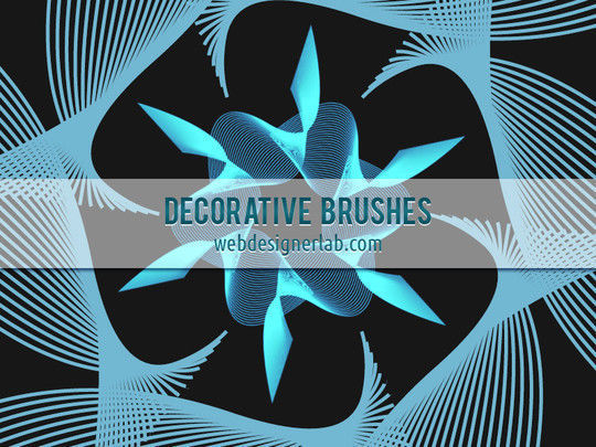 40 High Quality Decorative Corner Brushes For Free Download 4