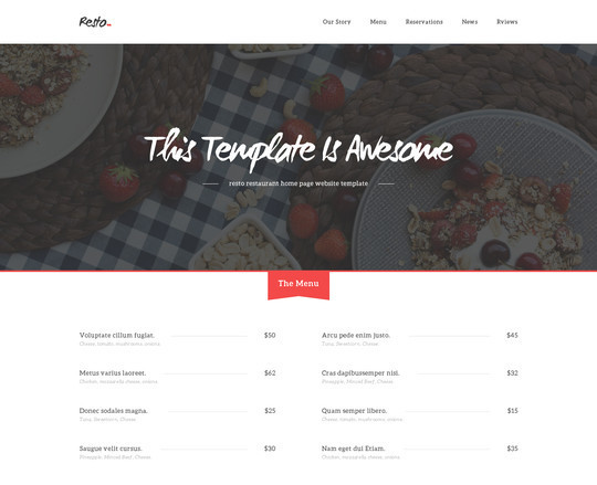 40 High Quality Yet Free Website Templates PSDs 28