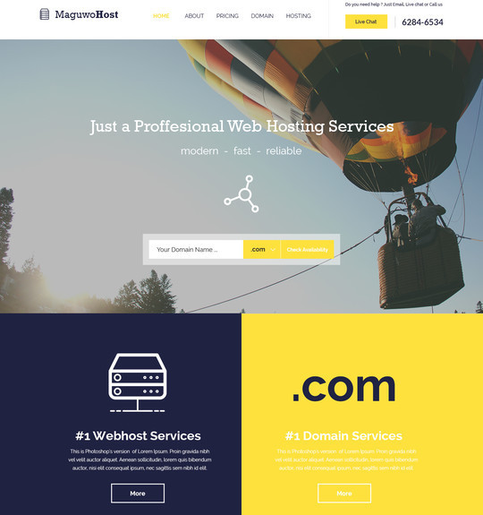 40 High Quality Yet Free Website Templates PSDs 17