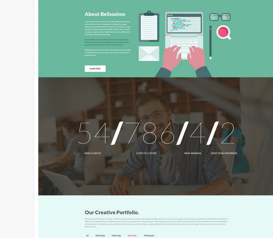 40 High Quality Yet Free Website Templates PSDs 16
