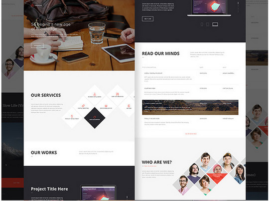 40 High Quality Yet Free Website Templates PSDs 14