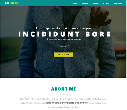 40 High Quality Yet Free Website Templates PSDs 27