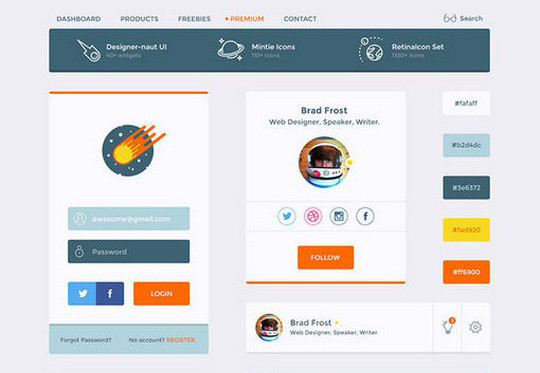 40 Excellent Free Resources For Web Designers 7