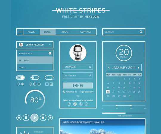 40 Excellent Free Resources For Web Designers 9