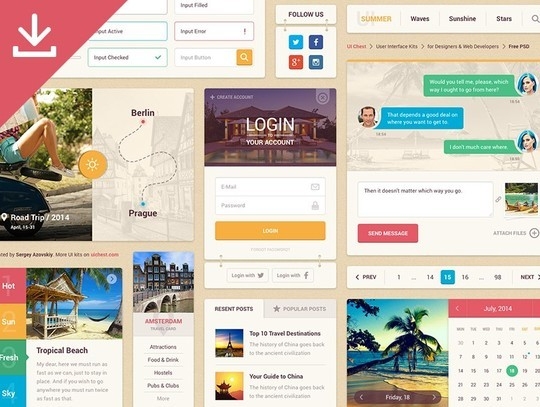 40 Excellent Free Resources For Web Designers 10