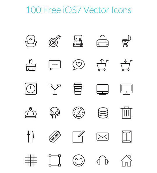 35 Free Ingenious Icons To Compliment All Designs 12