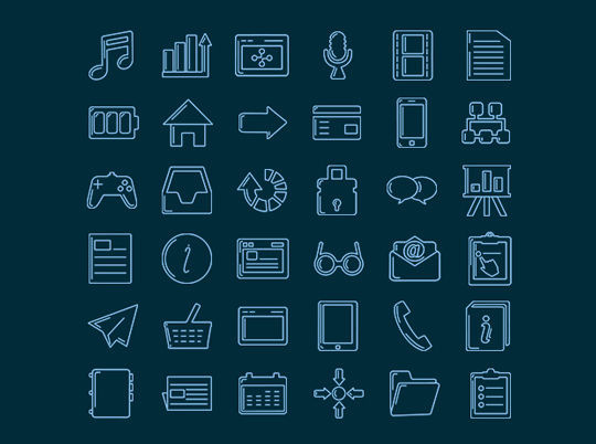 35 Free Ingenious Icons To Compliment All Designs 15