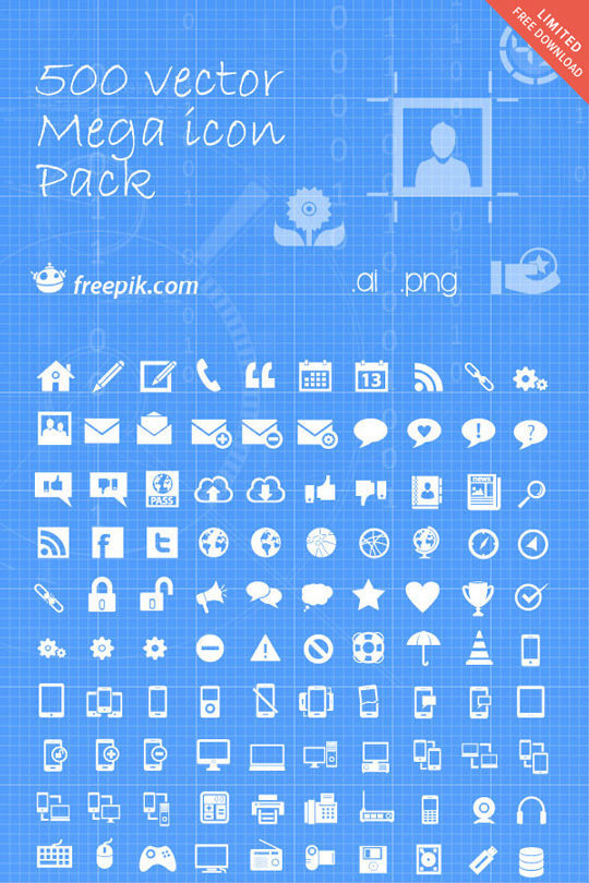 35 Free Ingenious Icons To Compliment All Designs 22