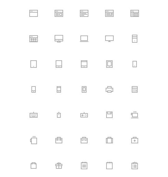 35 Free Ingenious Icons To Compliment All Designs 23