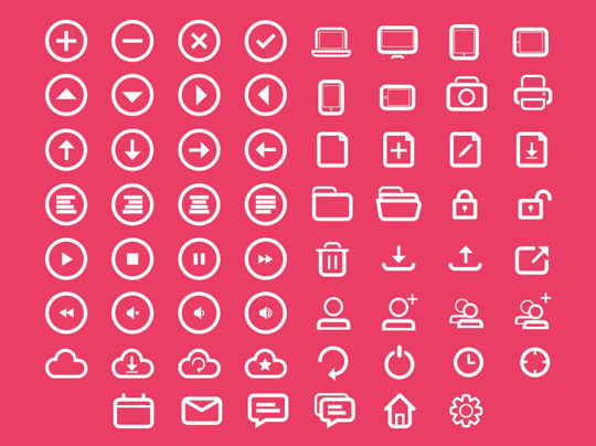 35 Free Ingenious Icons To Compliment All Designs 24