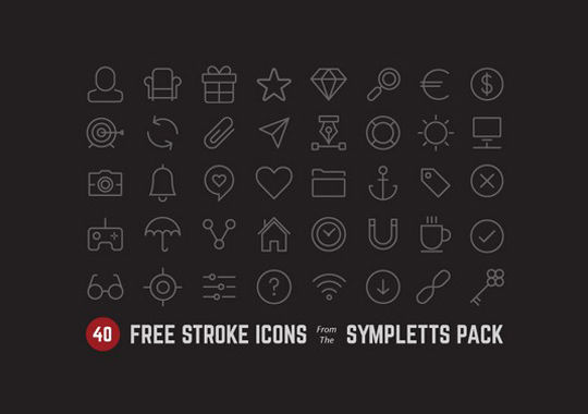 35 Free Ingenious Icons To Compliment All Designs 9