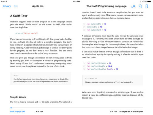 12 Tutorials For Getting Started With Swift; Apple's New Programming Language 5