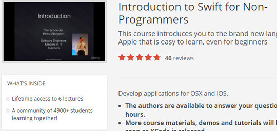 12 Tutorials For Getting Started With Swift; Apple's New Programming Language 13