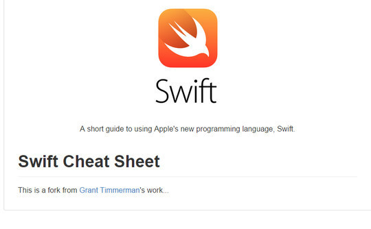 12 Tutorials For Getting Started With Swift; Apple's New Programming Language 7