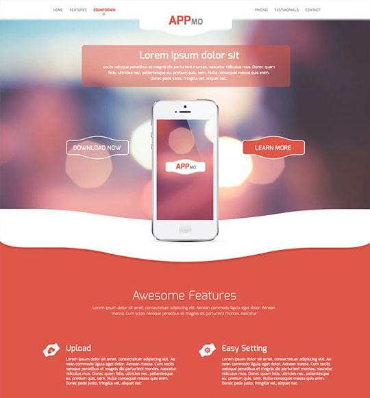 35 Latest & Most Amazing Photoshop Website Templates 4