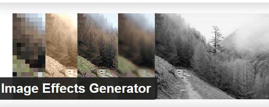 12 Wordpress Plugins To Create Image Effects 2
