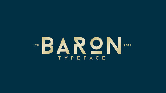 12 Useful Capital Fonts Free To Download 7