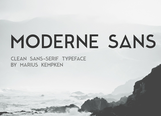 12 Useful Capital Fonts Free To Download 9