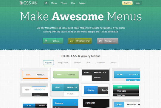 40 Free CSS Tools For Accelerated Development 15