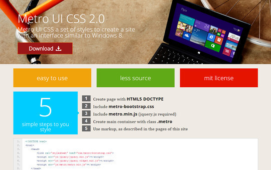 40 Free CSS Tools For Accelerated Development 30