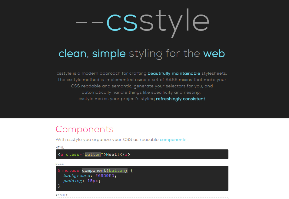 40 Free CSS Tools For Accelerated Development 3